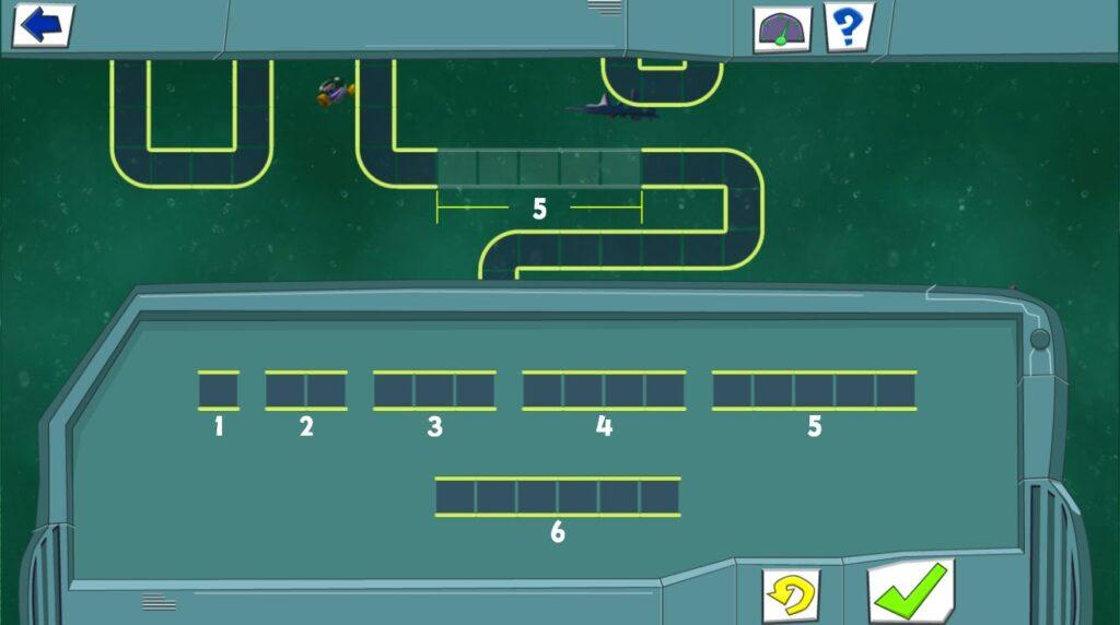 Comichafte Darstellung: Ein Röhrensystem, bei dem ein Stück fehlt. Unten gibt es eine Auswahl an verdieden langen Röhren, die man in die Lücke einsetzen kann.